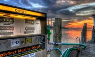 Platba za pohonné hmoty